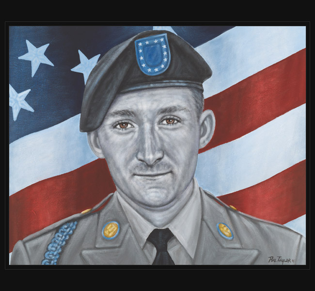 Army CPL Michael Alleman