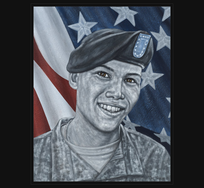 Army PFC Mykel F. Miller